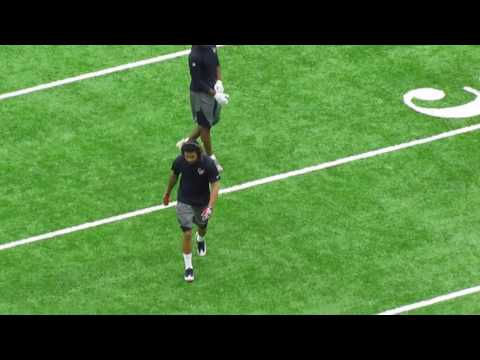Will Fuller getting ready for Chicago Bears