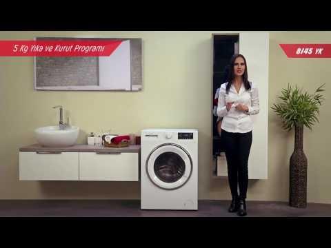 8145 yk arçelik kurutmalı çamaşır makinesi tanıtım videosu