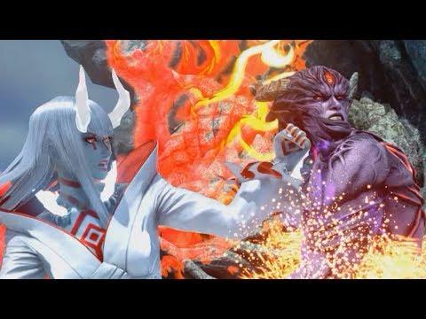 Tekken 7 - All Rage Arts on Devil Kazuya (1080p 60FPS)