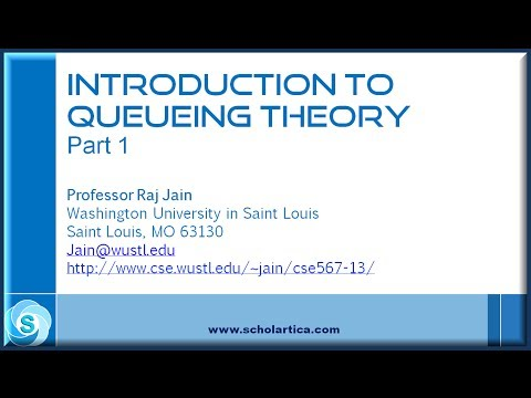 Introduction to Queueing Theory: Part 1