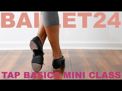 Ballet 24: Tap Basics Mini Class