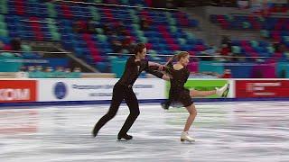 Ритм танец Юниоры Первенство России по фигурному катанию среди юниоров 2021