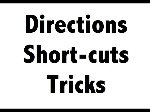 QOD 5 - Directions reasoning tricks concepts short cuts - Bank IBPS SBI PO Clerk police ssc chsl cgl