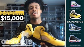 Collin Sexton Shows Off His Favorite Sneakers, From Most Expensive to Rarest | GQ Sports