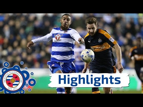 Highlights: Reading 0-0 Newcastle United, Sky Bet Championship, 7th March 2017