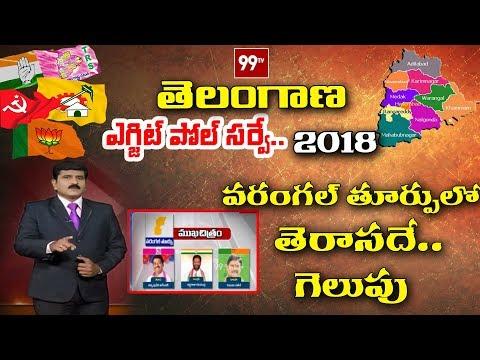 99TV Post Poll Survey | Warangal East Post Polls | Telangana Election Result | 99 TV Telugu