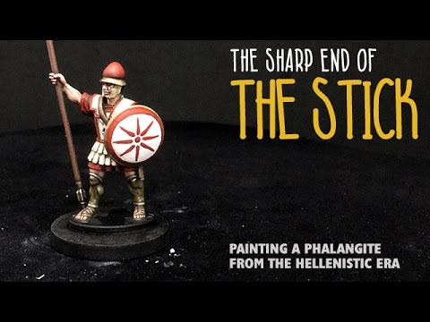 The sharp end of the stick: Painting a phalangite from the Hellenistic era