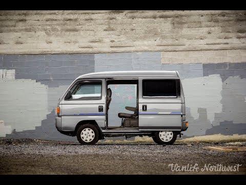 FOR SALE: 1992 HONDA Street 4wd JDM Van // by VANLIFE NORTHWEST