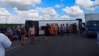 Автобус с российскими туристами в Доминикане попал в страшную аварию