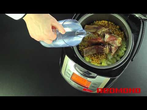 Гороховый суп в мультиварке REDMOND RMC-M4502