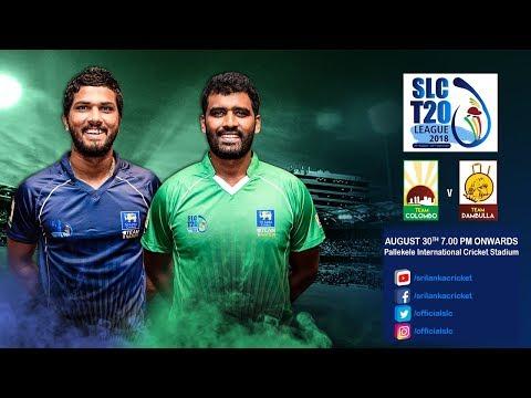 SLC T20 League 2018 - Match 12: Team Colombo vs Team Dambulla