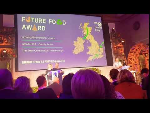 Growing Underground - BBC Future Food Award winner!