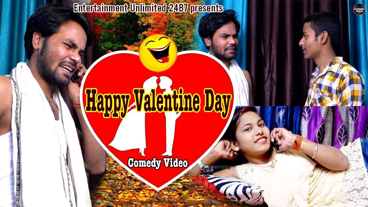 Happy Valentine Day 2018 Valentine Day Special Comedy Video Youtube