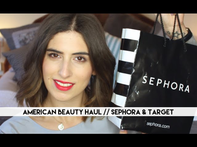 American Beauty Haul | Sephora & Target // Lily Pebbles