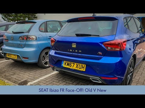 SEAT Ibiza FR Face Off: Old v New