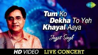 Tum Itna Jo Muskura Rahe Ho  Jagjit Singh  Live Concert Video