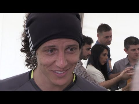 FA Cup Final - David Luiz, Marcos Alonso & Willian Interview - Arsenal v Chelsea