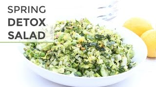 Easy Chopped Detox Salad Recipe | Spring