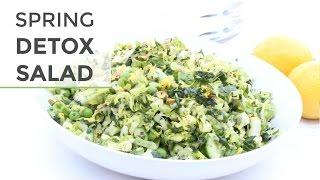 Easy Chopped Detox Salad Recipe | Spring