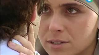 Жади кидает Лукаса на пляже  Клон (47 серия)