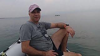 рыбалка тролинг на озере кинерет