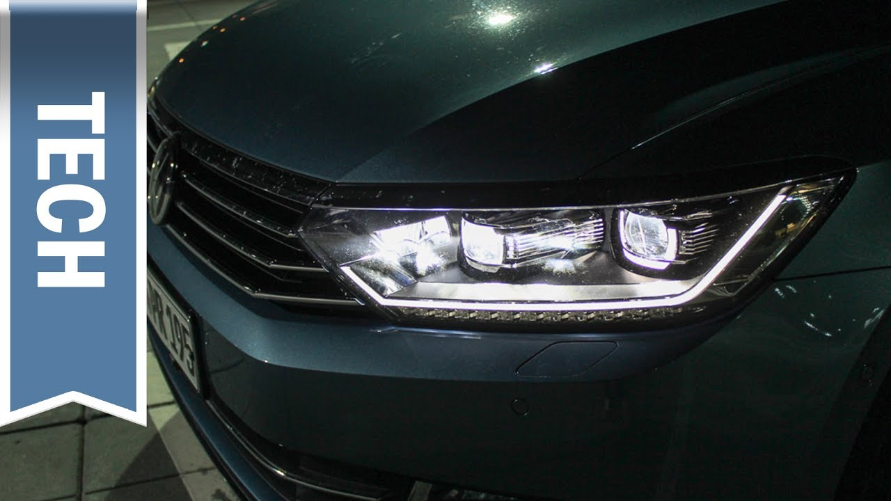 Volkswagen Active Lighting System (LED Scheinwerfer) im Passat ...