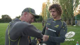 Spring Tour 2013: Nick Cummins & the Wallabies on Movember