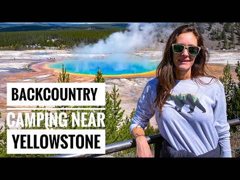 Yellowstone | Camping near Jackson Hole Wyoming