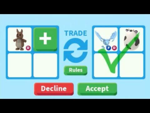 Trading Kangaroo In Adopt Me On Roblox Kangaroo Worth Youtube