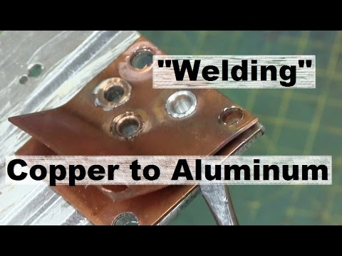 Welding and Drilling Non-Ferrous with Tungsten