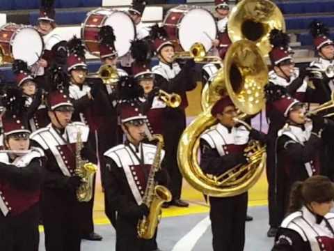 Shenandoah Valley Marching Invitational Stuarts Draft High School Band