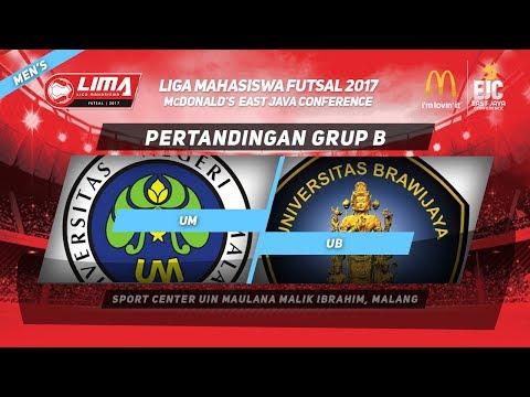 UM VS UB di LIMA Futsal McDonald's East Java Conference 2017 (Men's)