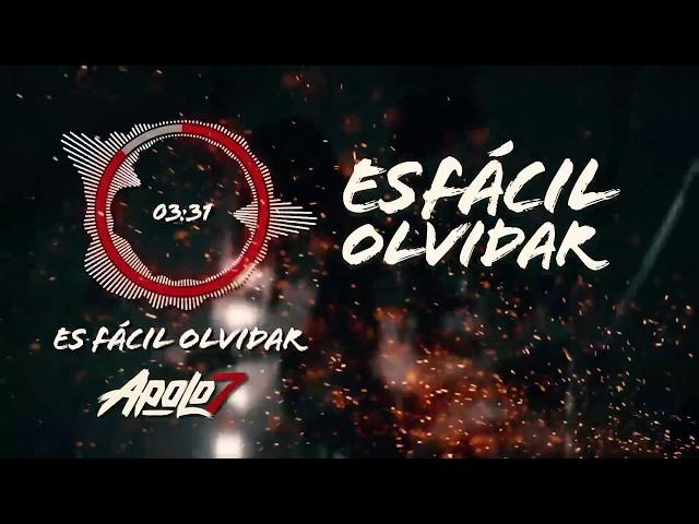 Apolo 7 - Es F├бcil Olvidar (Lyric Video) - Rock Colombiano 2018
