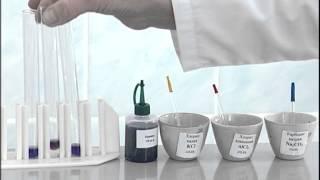 Гидролиз солей. Опыт 2. Определение реакции среды в растворах солей