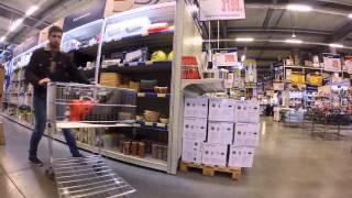 Как ходят по супермаркетам обычные люди и как я