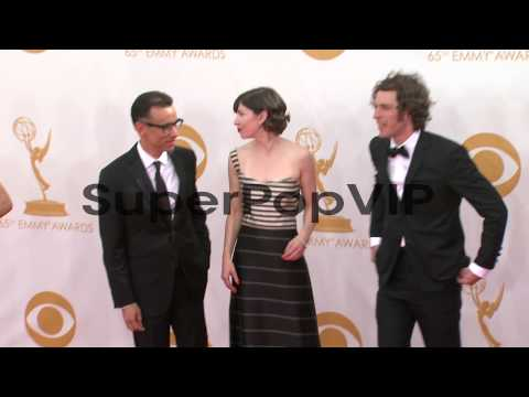 Fred Armisen, Carrie Brownstein, and Jonathan Krisel at t...