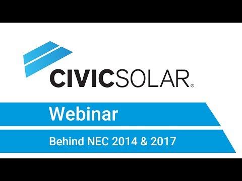 Webinar: Behind NEC 2014 & 2017
