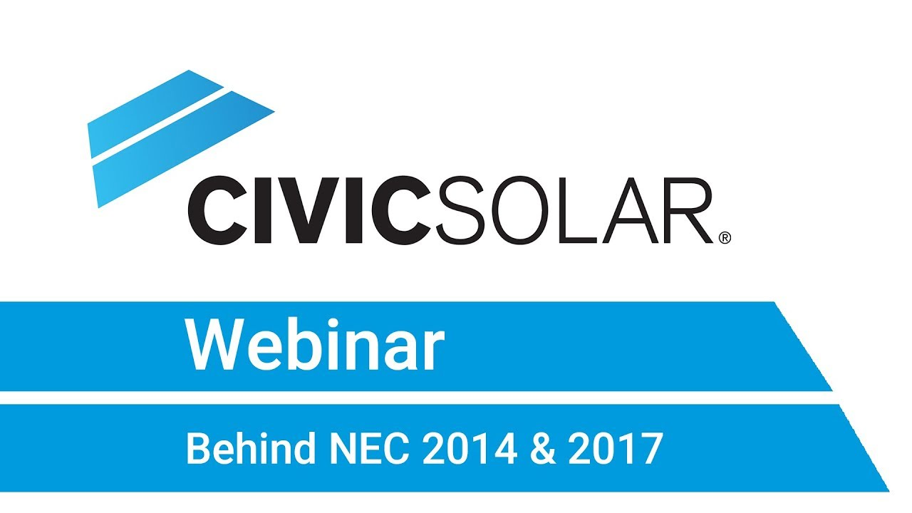 Webinar: Behind NEC 2014 & 2017 on