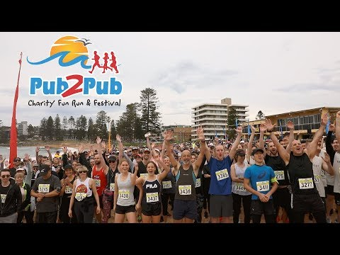 2018 Pub2Pub Charity Fun Run & Festival - Sydney's most scenic fun run