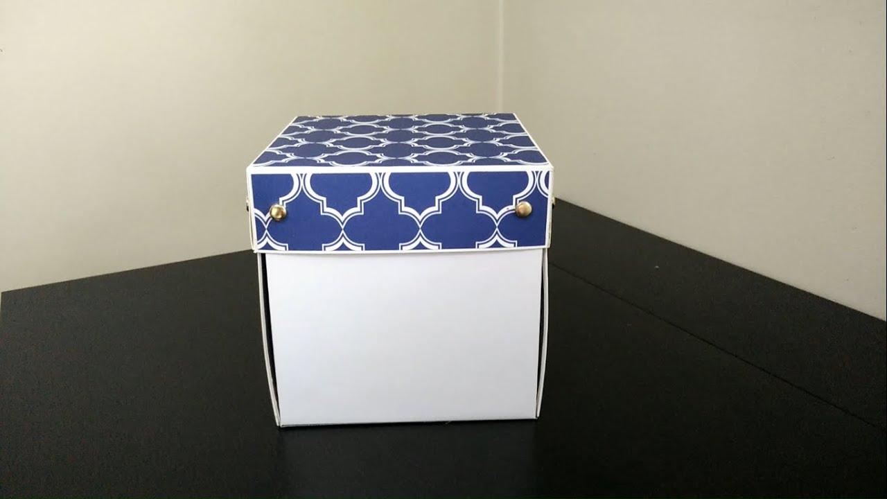 Scrapbook ideas for boyfriend -  Box Scrapbook Explosion Box Scrapbook Ideas For Boyfriend