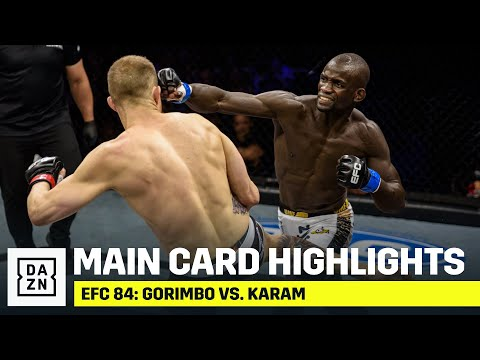 If you guys haven't check out South Africa's EFC they also have some good fights - EFC 84 Highlights