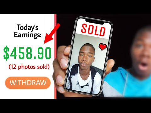SECRET Way To Make $458.90 Per Day Selling YOUR Selfies! (Make Money Online 2020)