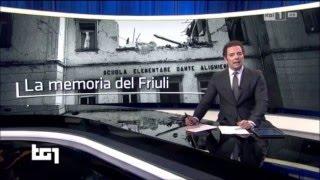 Tg1. La memoria del Friuli