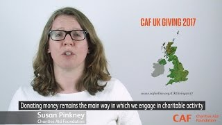CAF UK Giving 2017 | Charities Aid Foundation