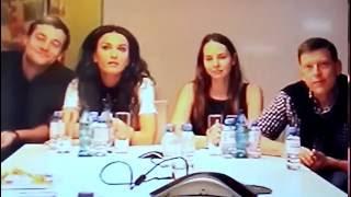 Видео-конференция с актерами сериала «Мамочки» телеканала СТС, второй сезон – фрагменты(2)
