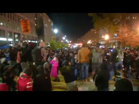 LIVE: Protesters demonstrate in Washington, D.C.
