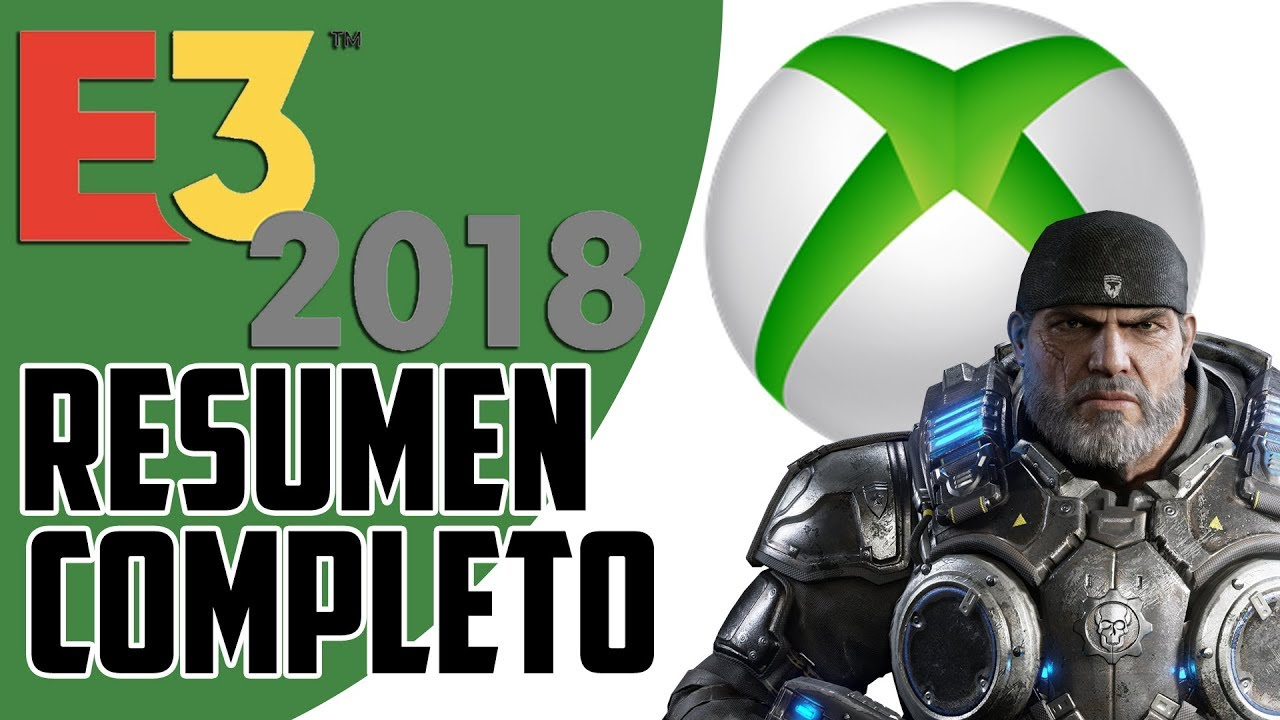 E3 2018 - Resumen de Conferencia de Xbox (Microsoft)