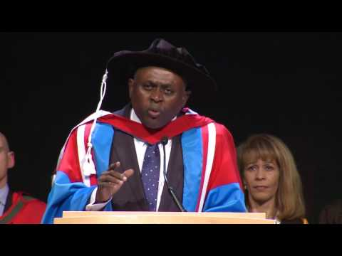 Dr Bennet Omalu receives an Honorary Doctorate from RCSI & addresses the Medical Class of 2017