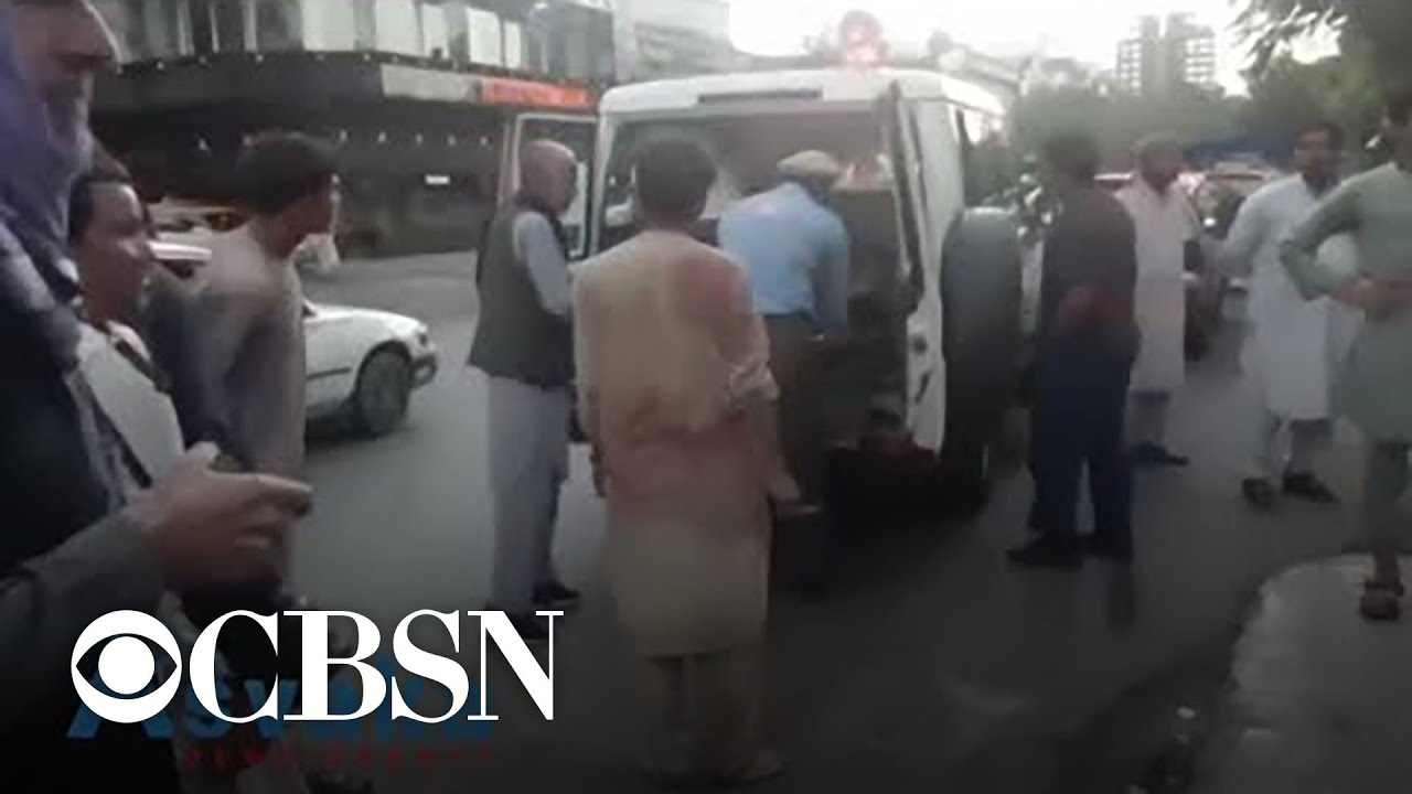Download Special Report: Deadly bombings near airport in Kabul, Afghanistan