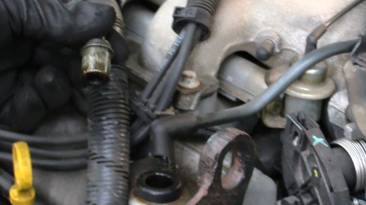 PCV Valve Change *Chevy* and many other Makes and Models